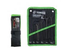Набор ключей комбинированных усиленные TUNDRA basic, сумка, 6 шт, 8-17 мм