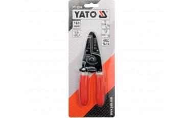 Инструмент для обжима и зачистки проводов YATO
