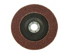 Круг лепестковый торцевой LOM, 125 × 22 мм, Р80